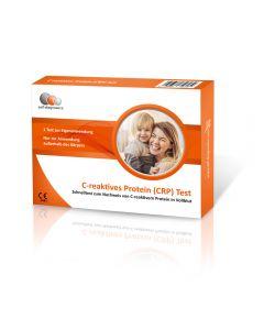CRP Schnelltest Entzündungsparameter C-reaktives Protein (Haltbarkeit 30.09.2021)