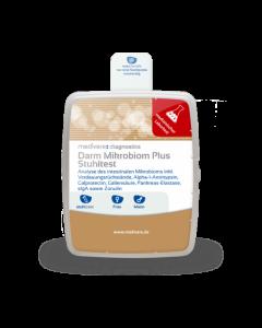 Stuhltest Darm Mikrobiom Plus medivere Labordiagnostik