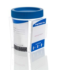Drug-Detect Cup Multi 6  hygienic quick test for 6 common types of drugs
