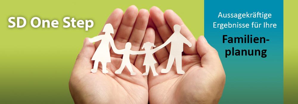 SD One-Step Tests für die Familienplanung